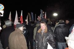 warszawa dn. 13 grudnia 2012 roku -marsz podczas rocznicy wprowadzenia stanu wojennego