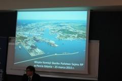 2015-03-26 Wyjazdowe posiedzenie Komisji Skarbu Państwa w Morskim Porcie Gdynia S.A.