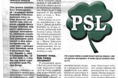 """2015-03-27 Korupcja wyborcza z udziałem działaczy PSL - artykuł w """"SuperNowościach"""" - nr 60(4642)"""
