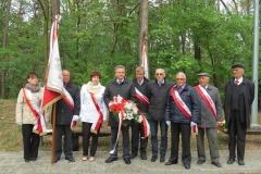 2015-04-29 Uroczystości patriotyczno-religijne na Górze Śmierci w Pustkowie