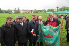 2015-05-02 Pielgrzymka PiS z Andrzejem Dudą w Strachocinie
