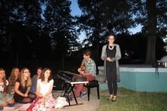 2015-08-27 Wieczorek artystyczny z grupą Safo