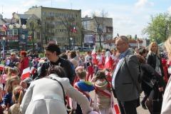 2016-04-29 Dębiczanie na patriotycznym happeningu