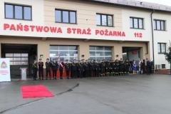 2019-08-13 Powołanie bryg. Krzysztofa Marka na Komendanta Powiatowego PSP w Dębicy