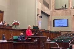 2020-01-10 Poseł Jan Warzecha zadał pytanie bieżące w sprawie stanu budowy Zbiornika Kąty-Myscowa