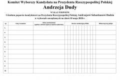 2020-02-11 Poparcie dla Pana Prezydenta Andrzeja Dudy