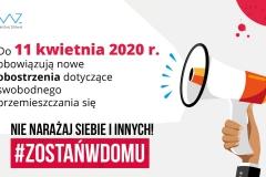 2020-03-25 Nowe zasady bezpieczeństwa w związku z koronawirusem