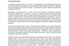 2020-06-10 Dotacja w wysokości 100 tys.  złotych dla dębickiego szpitala