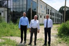 2020-06-26 Wizyta wiceministra sportu Jacka Osucha w Dębicy