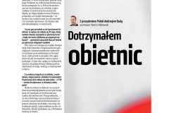2020-07-06 Wywiad z Prezydentem Andrzejem Dudą