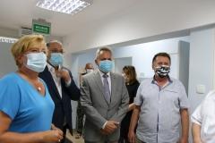 2020-07-07 Wizyta Wiceminister Zdrowia w Dębicy